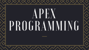 What is Apex Programming?