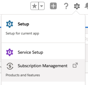 Subscription Management in Salesforce