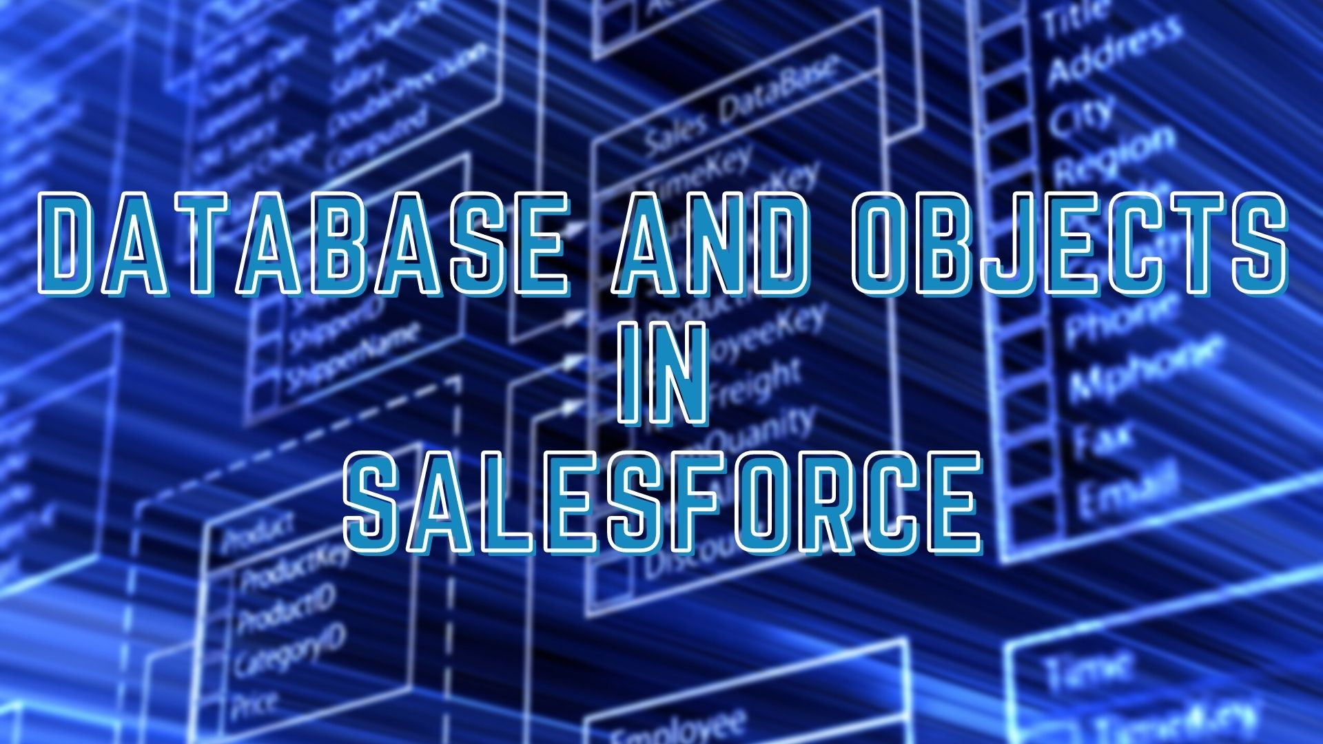 Database and Objects in Salesforce